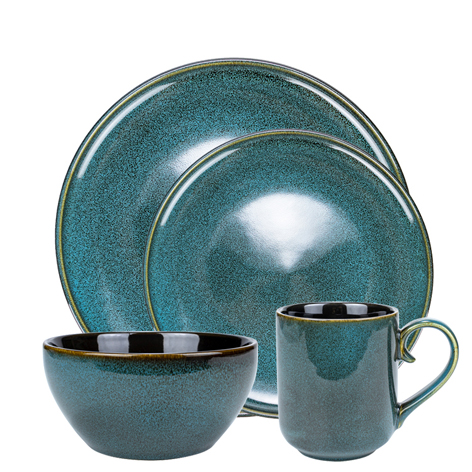 <b>16PCS Dinnerware Dish Set</b>